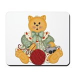 Dressed Up Kitty Mousepad