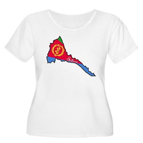 Cool Eritrea Women's Plus Size Scoop Neck T-Shirt