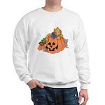 Cute Cat & Mice w/Pumpkin Sweatshirt