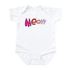 Meow Infant Bodysuit
