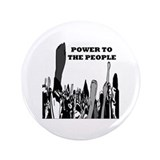 "Power to the People 3.5"" Button"