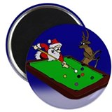"Santa and Rudolph 2.25"" Magnet (100 pack)"