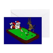 Santa and Rudolph Greeting Cards (Pk of 10)
