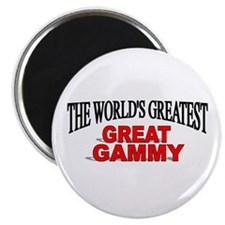 """The World's Greatest Great Gammy"" Magnet"