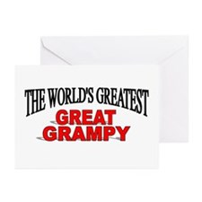 """The World's Greatest Great Grampy"" Greeting Cards"