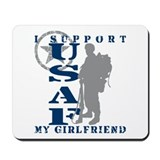 I Support Girlfriend 2 - USAF Mousepad