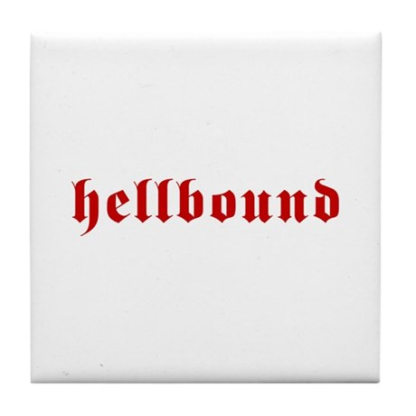Hellbound Tile Coaster