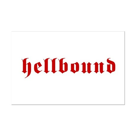 Hellbound Mini Poster Print