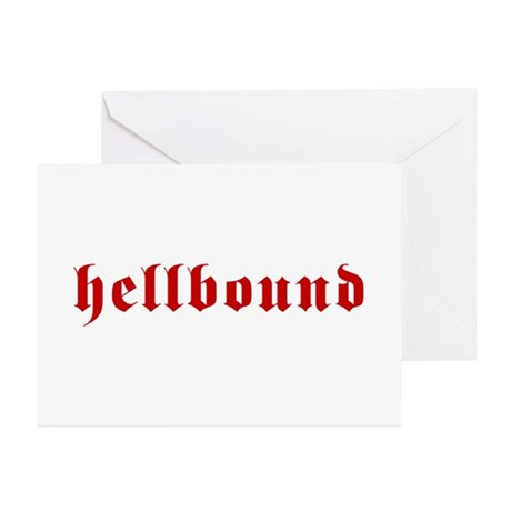 Hellbound Greeting Cards (Pk of 10)