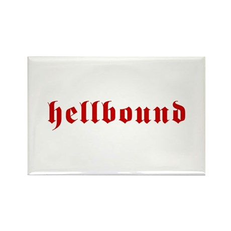 Hellbound Rectangle Magnet (100 pack)