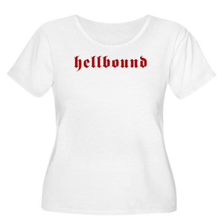 Hellbound Women's Plus Size Scoop Neck T-Shirt