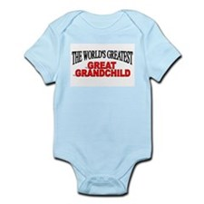 """The World's Greatest Great Grandchild"" Infant Bod"