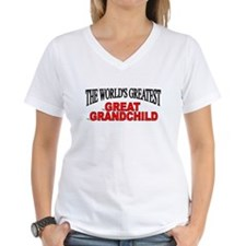 """The World's Greatest Great Grandchild"" Shirt"