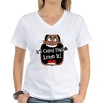 It's Called English [Dark] Women's V-Neck T-Shirt