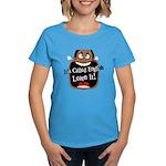 It's Called English [Dark] Women's Aqua T-Shirt
