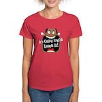 It's Called English [Dark] Women's Red T-Shirt