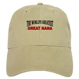 """The World's Greatest Great Nana"" Baseball Cap"