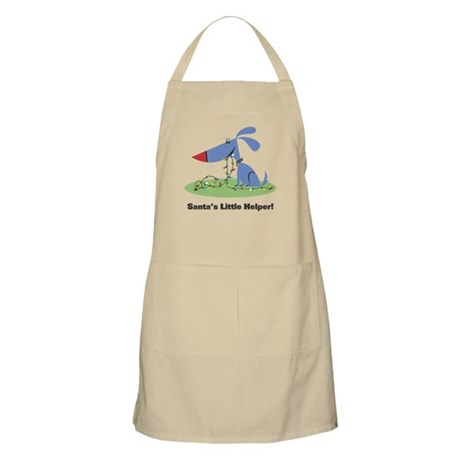 Santa's Dog Helper BBQ Apron