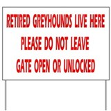 GATE YARD SIGN