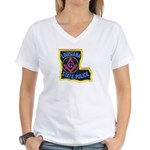 LA State Police Mason Women's V-Neck T-Shirt