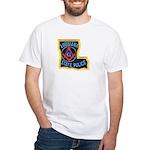 LA State Police Mason White T-Shirt