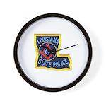 LA State Police Mason Wall Clock