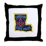 LA State Police Mason Throw Pillow