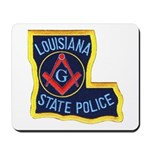 LA State Police Mason Mousepad