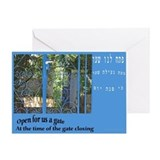Jewish High Holydays Card, Neila the Closing Gate