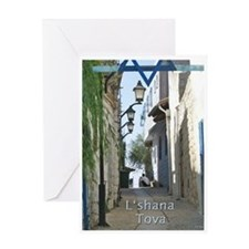 Jewish New Year Greeting Card L'shana Tova