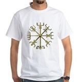 Gold Vegvisir Shirt