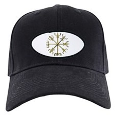 Gold Vegvisir Baseball Hat