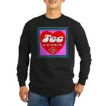 Tee Lover Framed Long Sleeve Dark T-Shirt