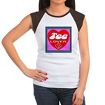 Tee Lover Framed Women's Cap Sleeve T-Shirt