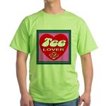 Tee Lover Framed Green T-Shirt