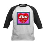 Tee Lover Framed Kids Baseball Jersey