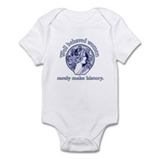Artistic Well Behaved Women Onesie