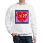 T-shirt Artist Framed Sweatshirt