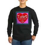 T-shirt Artist Framed Long Sleeve Dark T-Shirt