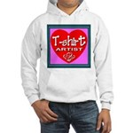 T-shirt Artist Framed Hooded Sweatshirt