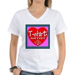 T-shirt Artist Framed Women's V-Neck T-Shirt