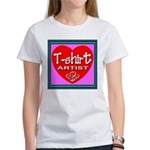T-shirt Artist Framed Women's T-Shirt