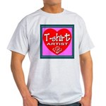 T-shirt Artist Framed Light T-Shirt