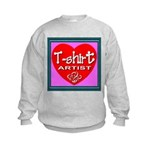 T-shirt Artist Framed Kids Sweatshirt