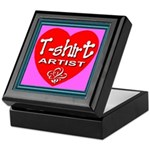 T-shirt Artist Framed Keepsake Box
