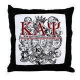 Kappa Throw Pillow