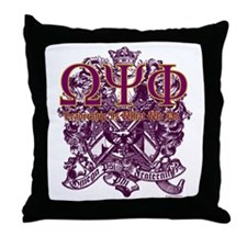 Omega Throw Pillow
