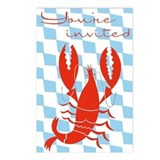 Lobster Invitation Postcards (Package of 8)