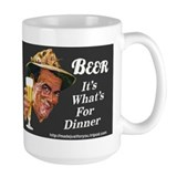 #0060 BEER It's What's For Dinner Mug