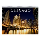 Downtown Chicago Wall Calendar